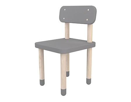 Flexa Play Chair With Backrest Urban Grey