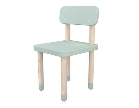 Flexa Play Chair With Backrest Mint Green