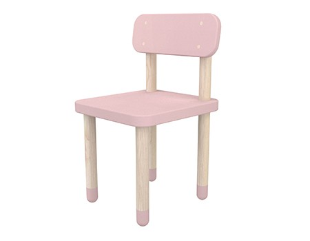 Flexa Play Chair With Backrest Rose