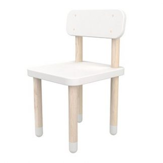 Flexa Play Chair With Backrest White