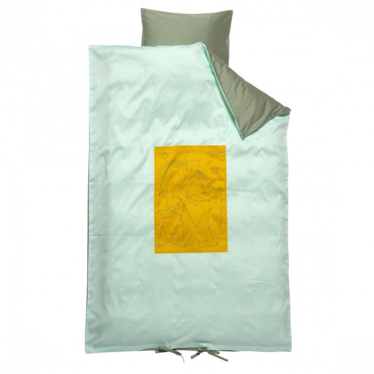 Fabelab Sleepy Junior Cot Quilt Cover Set Adventurer