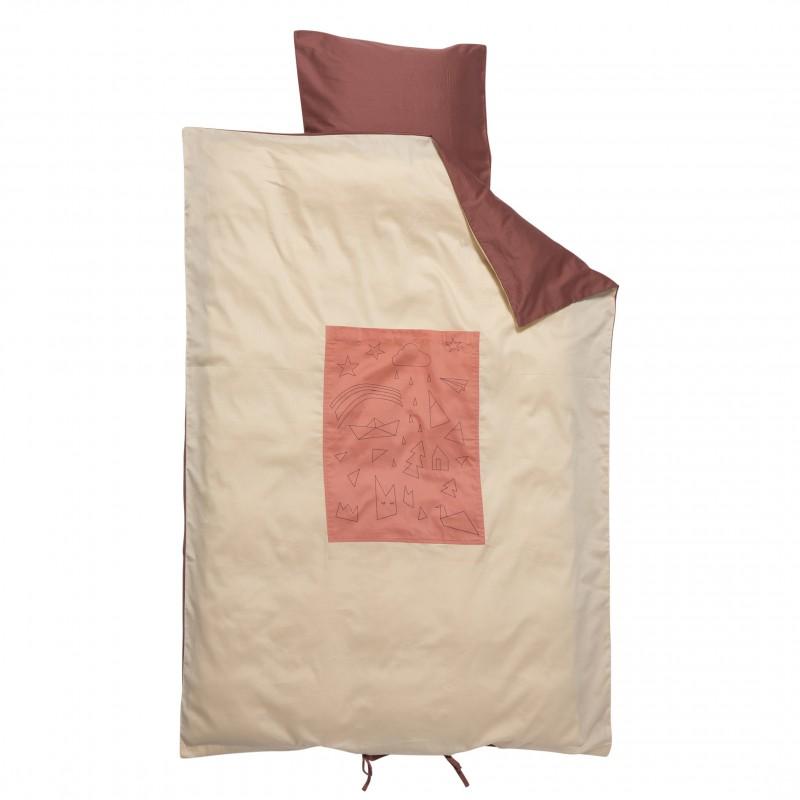 Fabelab Sleepy Junior Cot Quilt Cover Set Dreamer
