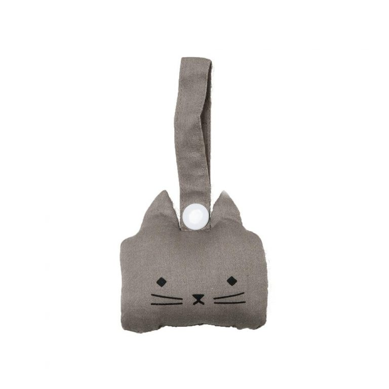 Fabelab Animal Rattle Cat