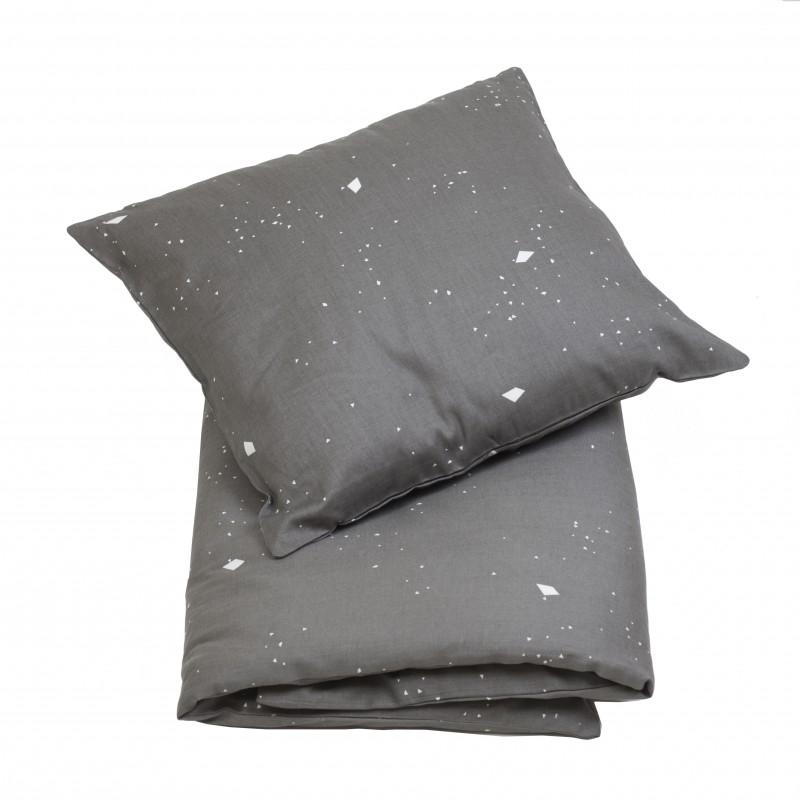 Fabelab Sleepy Junior Cot Quilt Cover Set Night Sky