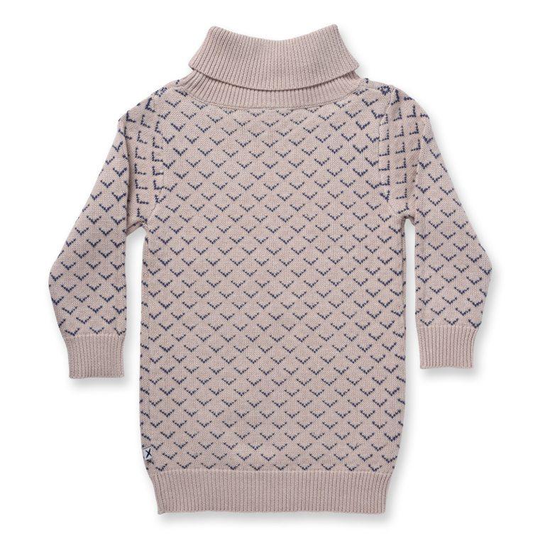 Minti Chevron Knit Jumper Dress