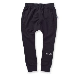 Minti Furry Bronx Trackies Black