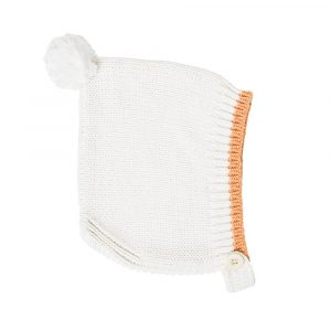 Acorn Kids Bonnet Forest Folk Cream