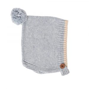 Acorn Kids Bonnet Forest Folk Grey