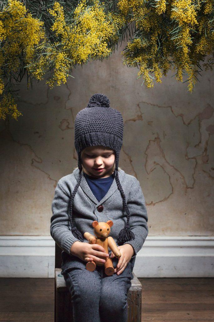 Acorn Kids Beanie London Charcoal