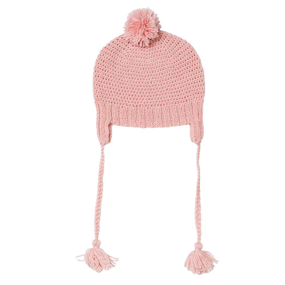 Acorn Kids Beanie London Dusty Pink