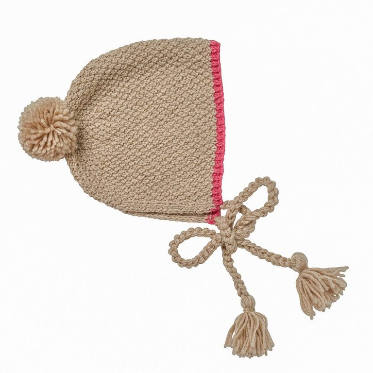 Acorn Kids Bonnet Meadow Oatmeal