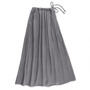 Numero 74 Ava Mum Long Skirt Stone Grey