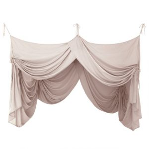 Numero 74 Bed Drape Single Powder