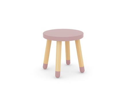 Flexa Play Stool Rose