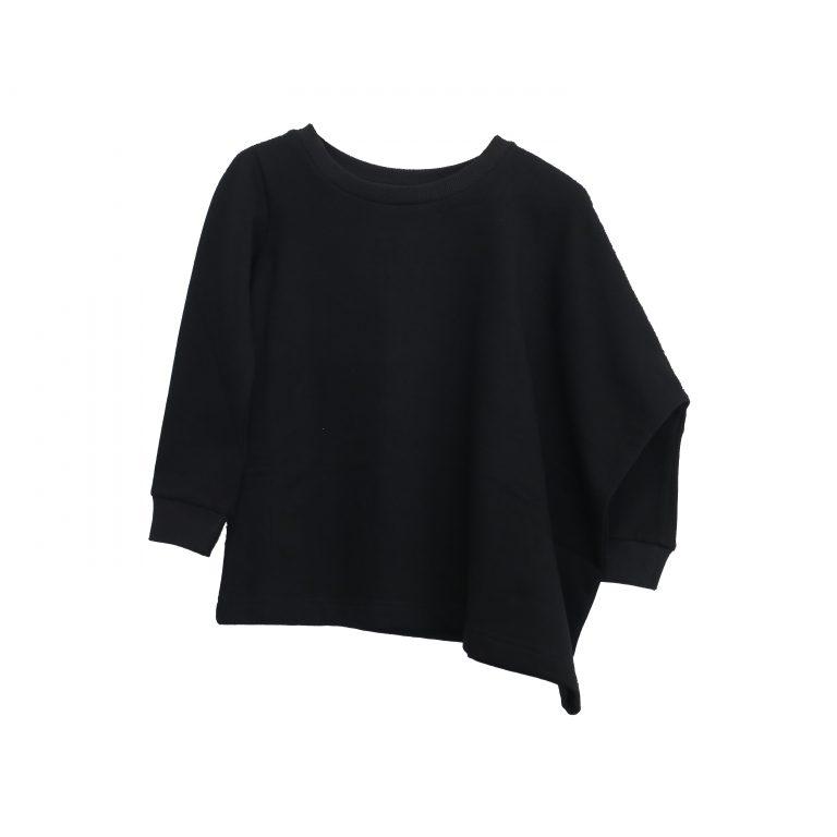 Kin Asymmetric Sweatshirt Black