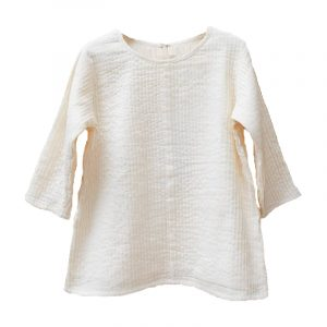 Kin 3/4 Sleeve Iris Shirt Natural