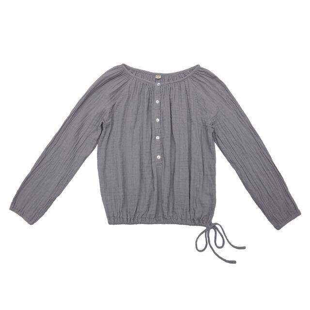 Numero 74 Naia Mum Shirt Stone Grey