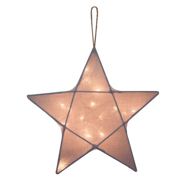 Numero 74 Star Lantern Stone Grey