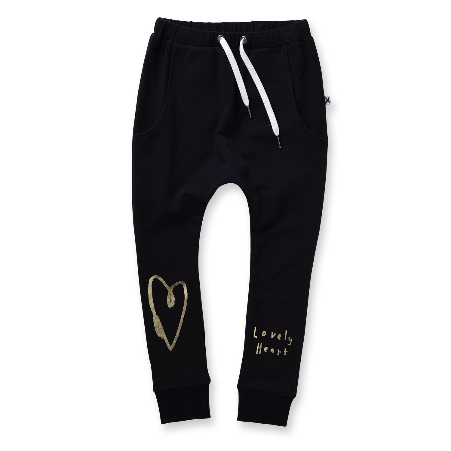 Minti Lovely Heart Furry Trackies