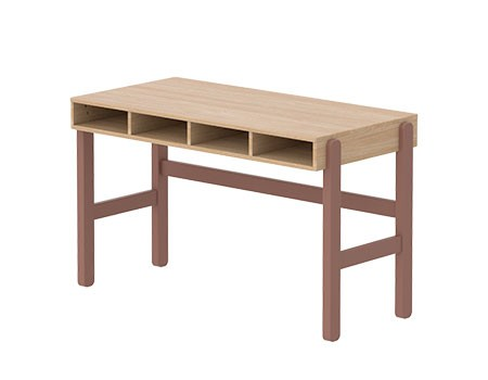 Flexa Popsicle Desk Cherry