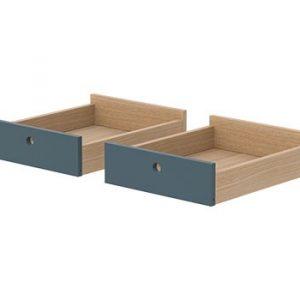 Flexa Popsicle Drawers for Desk Blueberry