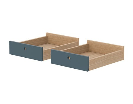 Flexa Popsicle Drawers for Desk Blueberry