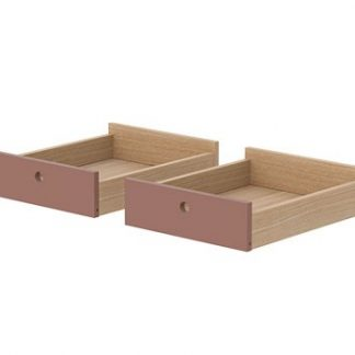 Flexa Popsicle Drawers for Desk Cherry