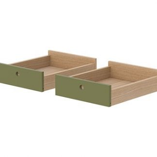 Flexa Popsicle Drawers for Desk Kiwi