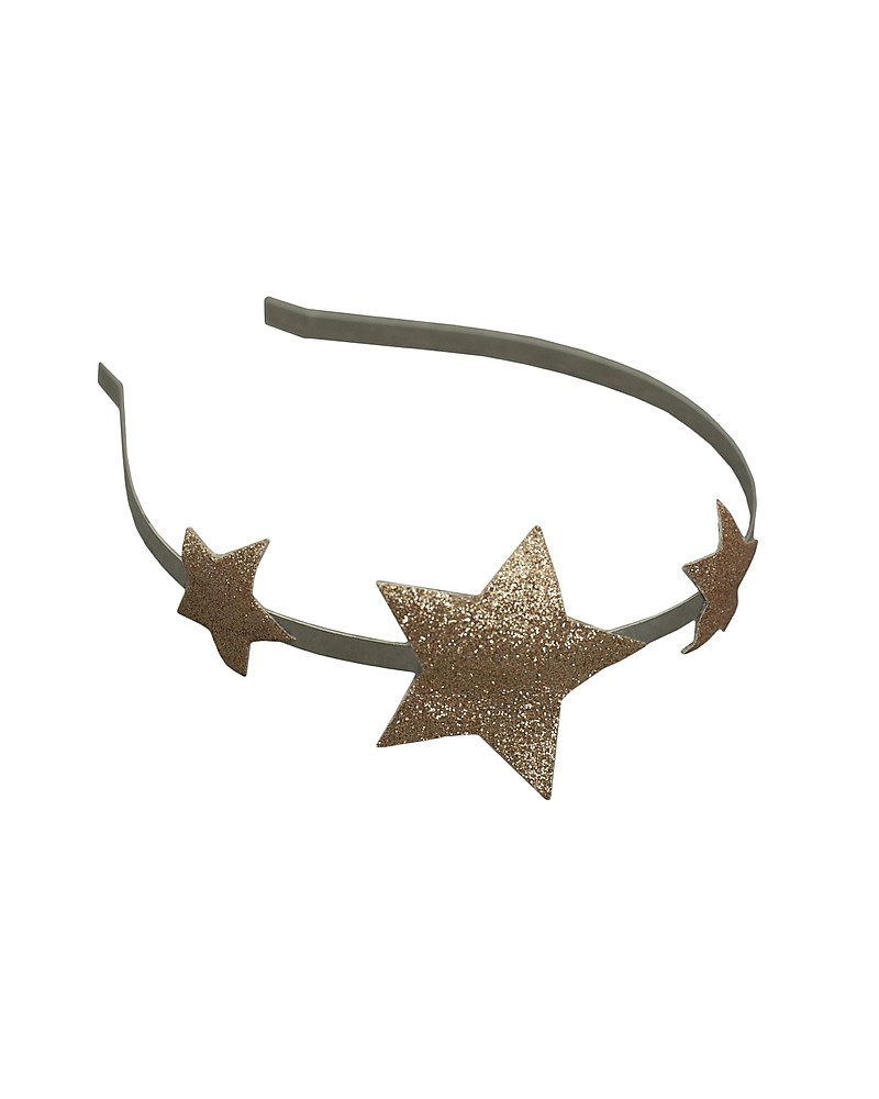 Numero 74 Glitter Star Headband Gold