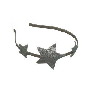 Numero 74 Glitter Star Headband Silver