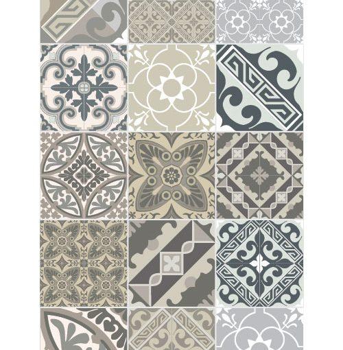 Beija Flor Vinyl Mat Eclectic Grey