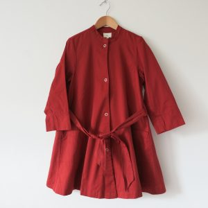 Kin Claude Jacket Dress Rust