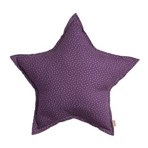 Numero 74 Star Cushion Stars Purple