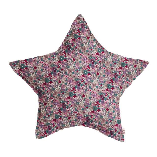 Numero 74 Star Cushion Popeline Floral Small