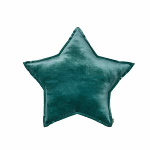 Numero 74 Star Cushion Velvet Teal