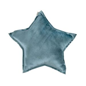 Numero 74 Star Cushion Velvet Ice Blue