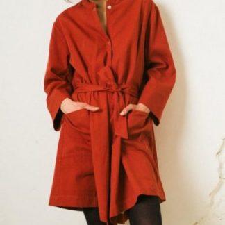 Kin Claude Jacket Dress Womens Ink