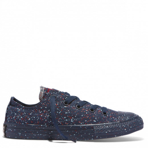 Converse Kid American Speckle Low Navy