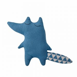 Bloomingville Knitted Fox Blue