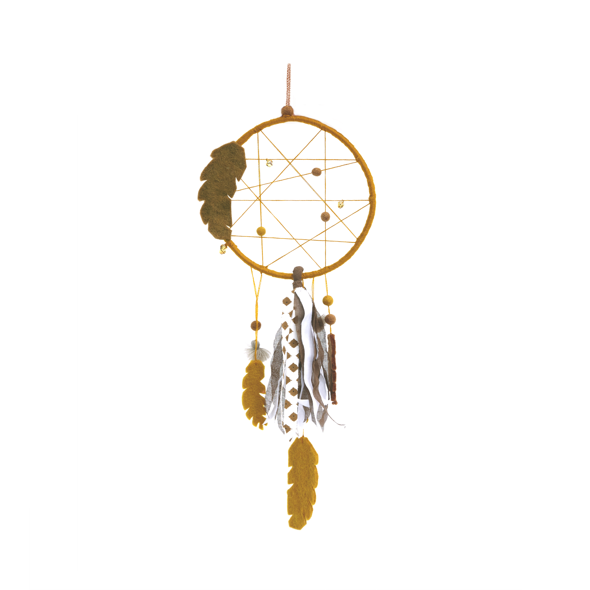 Muskhane Dreamcatcher Pollen/Rose Quartz