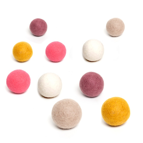 Muskhane Felt Ball Brights
