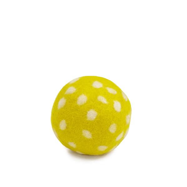 Muskhane Paddy Ball Sulphur Yellow