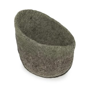 Muskhane Bicolour Drop Bowl Mineral Grey/Pierre