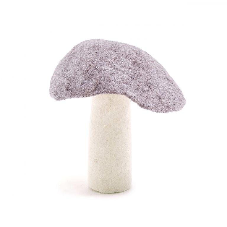 Muskhane Felt Wool Mushroom Pierre