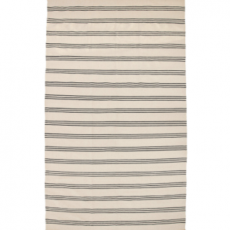 Bloomingville Rug Wool Grey Stripes 140x240cm