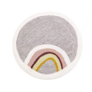 Muskhane Indreni Rug Rainbow Natural/Pierre