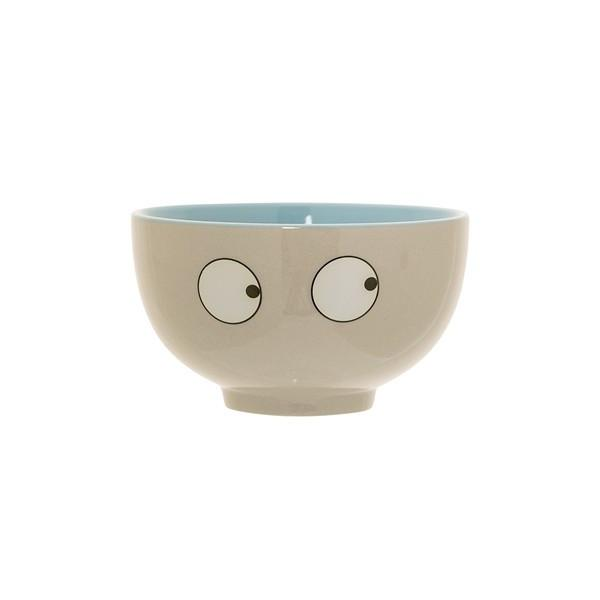 Bloomingville Christian Ceramic Bowl Eyes
