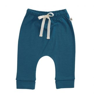 Nature Baby Drawstring Pants Blue Stone