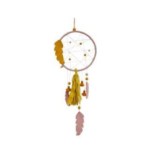 Muskhane Dreamcatcher Pollen/Rose Quartz