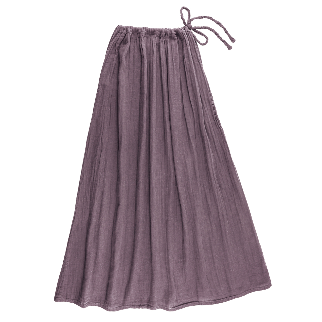 Numero 74 Ava Mum Long Skirt Dusty Lilac